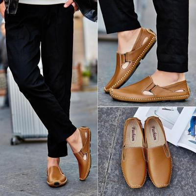 Men Leather Casual Shoes