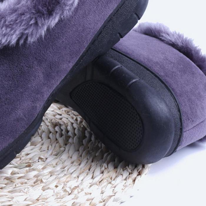 Men Winter Soft Plush Warm Slippers