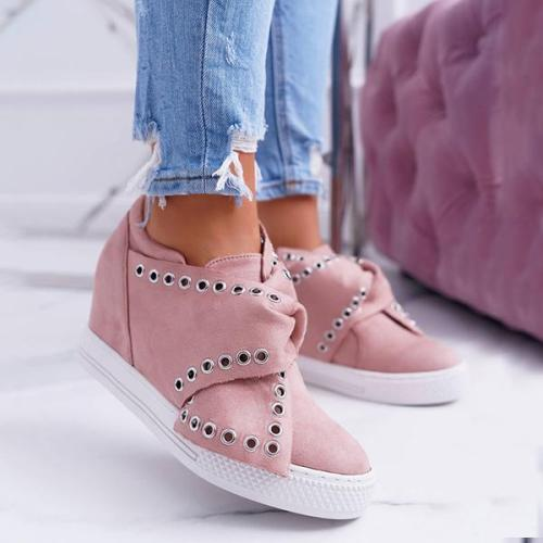 Casaul Sport Wedge Sneakers