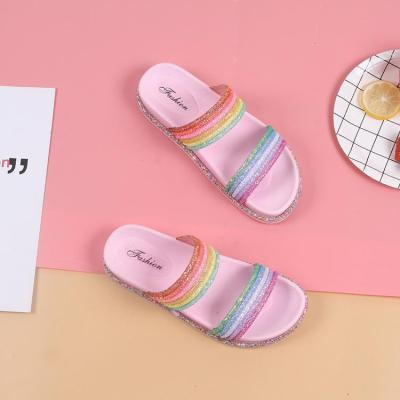 Fashion Casual Wild Wear Thick-Soled Slippers
