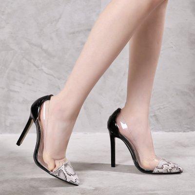Shoes Woman Cross-border High Single Shoes High Heels Women's Shoes