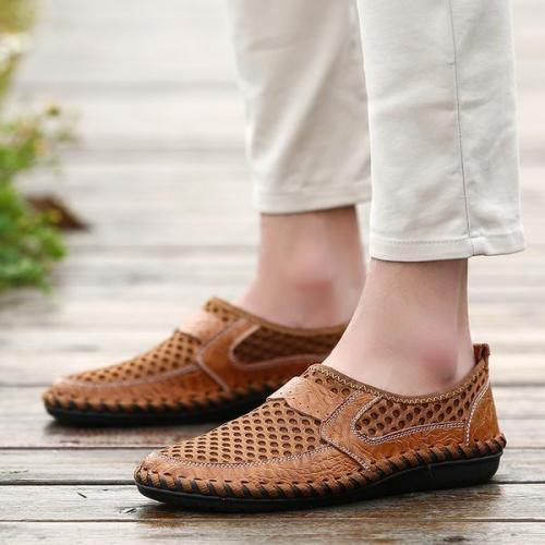 Men's Casual Mesh Breathable Slip-On Loafer
