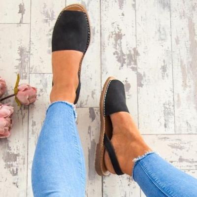 Roma Vintage Peep Toe Band Women Sandals