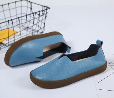 Big Size Pure Color Slip on Tod's Comfortable Flat Loafers Artificial Leather