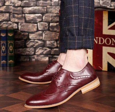 Gentle Plain Business Pointed Head Shoes
