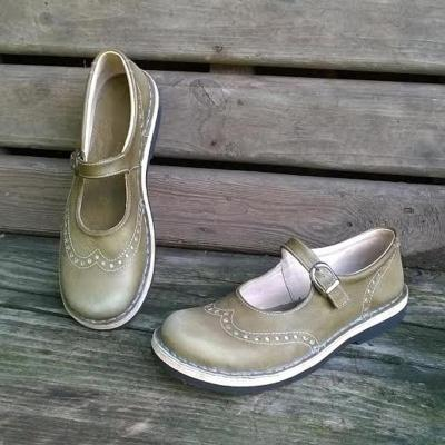 Vintage Casual Spring Flats