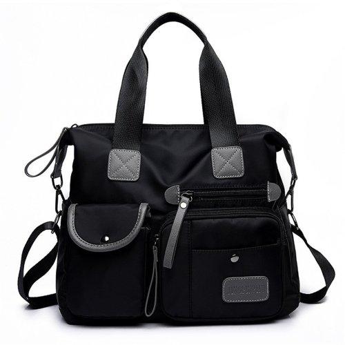 Women Nylon Waterproof Large Capacity Handbag Shoulder Bag