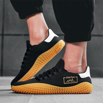 Men's casual breathable Flying weaving Men's Sneakers