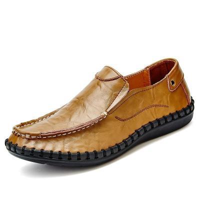 Men Split Leather Comfortable Shoes