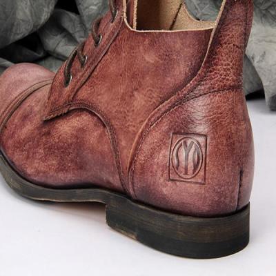 Men's vintage color boots