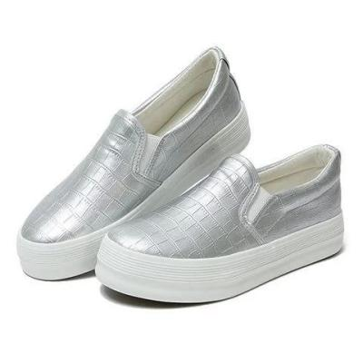 Women's Slip-On Round Toe Fashion PU Loafers