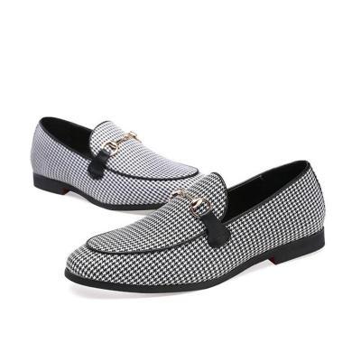Flat Slip-On Dress Loafers