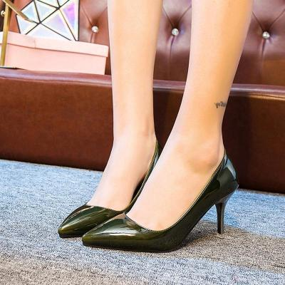 Spring/Summer Elegant Work Pointed Toe Shoes