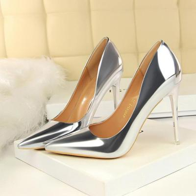 High Heels Gold Pumps Luxury Tacons Lady Shoes High Heels