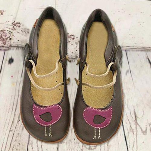 Women Casual Round Flat Shoes