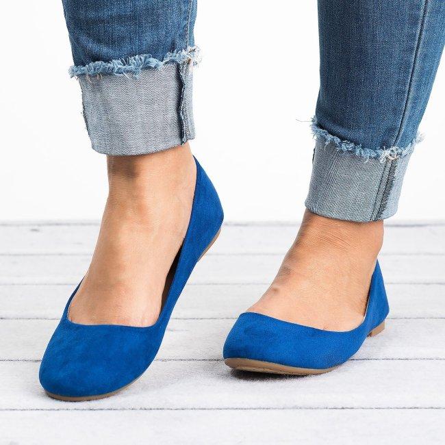 Classic Royal Blue Ballerina Flats