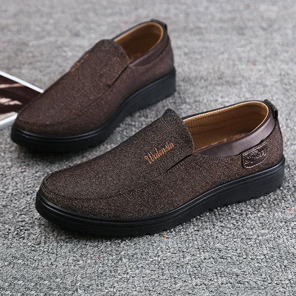 Mens Large Size Old Peking Casual Cloth Shoes