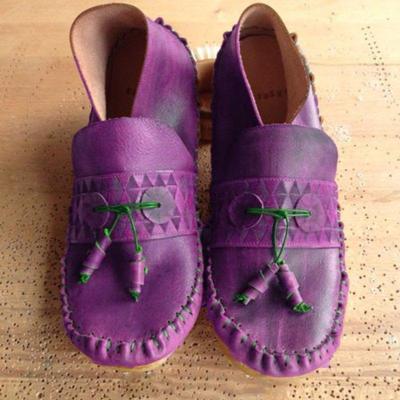 Chic Simple Boho Flat Shoes
