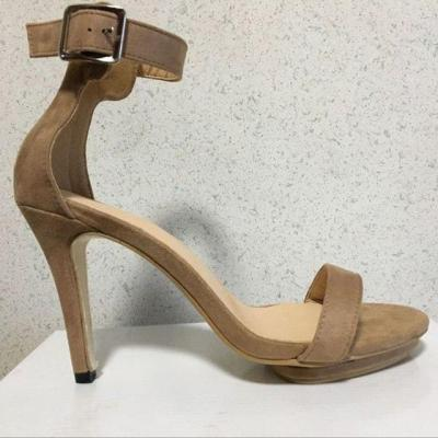 thin high heels  girl pumps shoes  footwear gladiator faux suede sandals