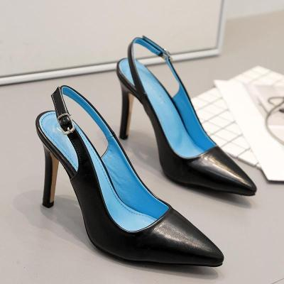 The Female Sandals Pointed Hgh-Heeled Shoes Fashion Footwear