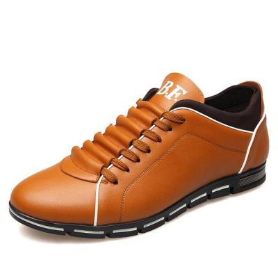 New England Male Breathable Leather Casual Shoes