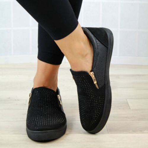 Casual Solid Color Breathable Flat Shoes