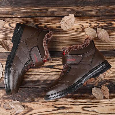 Snow Boots Men's Warm Cotton Boots
