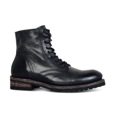 Men's Fashion Retro Square With Lace-Up Men Boots