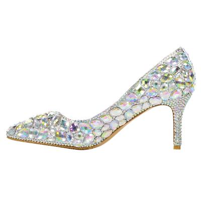High Heel Rhinestone Party & Evening Shoes