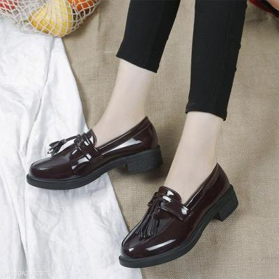 Plain  Flat  Round Toe  Outdoor Flat & Loafers