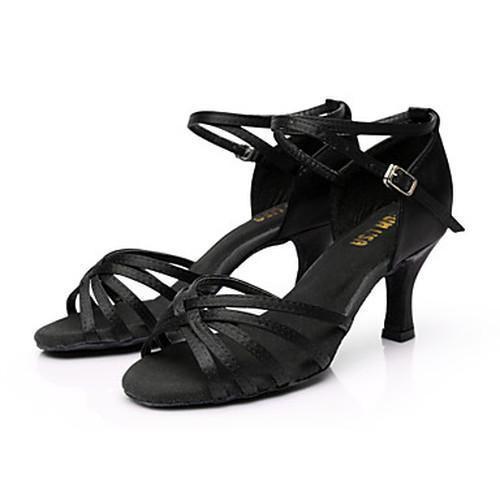 Women 7cm High Heel Dancing Shoes