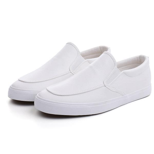 Mens Slip On Casual Loafers Comfortable Moccasins Shoes