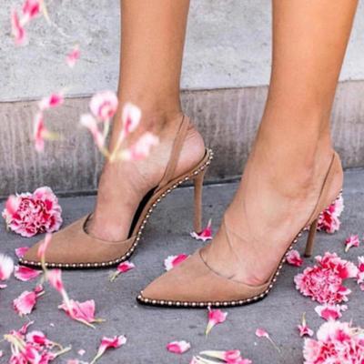 Daily Beading Casual Stiletto Heel Heels