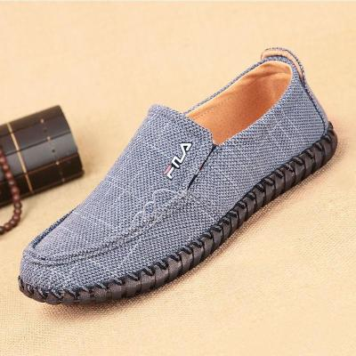 Breathable Canvas Casual Loafer Shoes