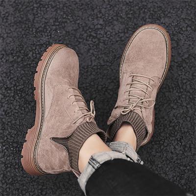 Men's wool socks, Martin boots