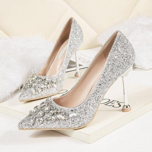 Rhinestone Party & Evening Elegant Heels