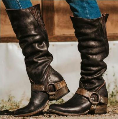 Women Vintage Plus Size Booties Casual Shoes