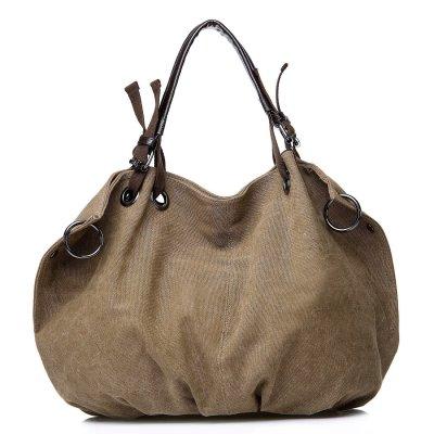 Canvas Multifunctional Leisure Handbag Messenger Bag