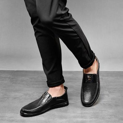 Men's Business Round Toe Flat Shoes