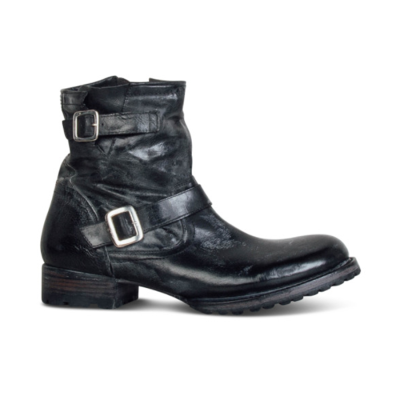 Men's Square   With Belt Buckle Wild Boots