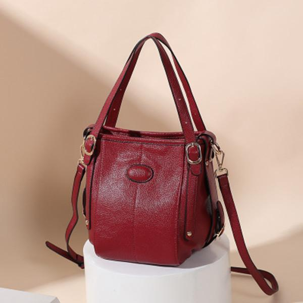 Women PU Leather Large Capacity Handbag Crossbody Bag