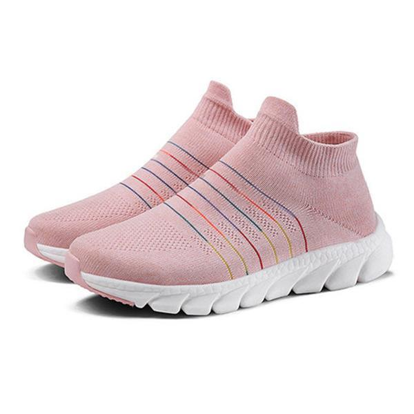 Casual Breathable Soft Bottom Slip-On Sneakers