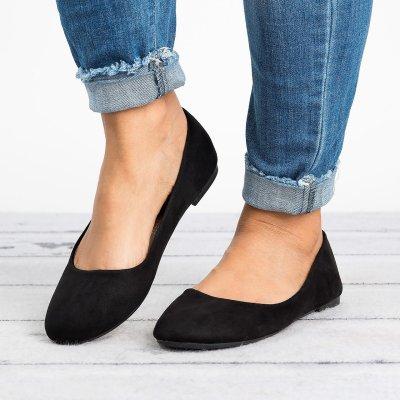 Classic Black Ballerina Flats