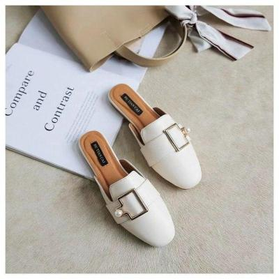 New Fashion Mules Women Slip On Flip Flops Women Slippers
