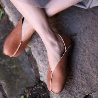 Women Casual Slip-On Artificial Leather Loafers