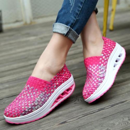 Women Wedge Heel Sneakers