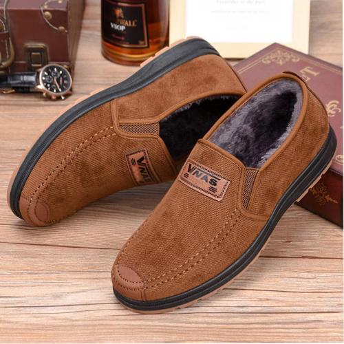 Round Toe Solid Warm Casual Shoes