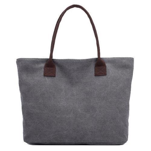 Vintage Canvas Casual Shopping Shoulder Bag Handbag For Women