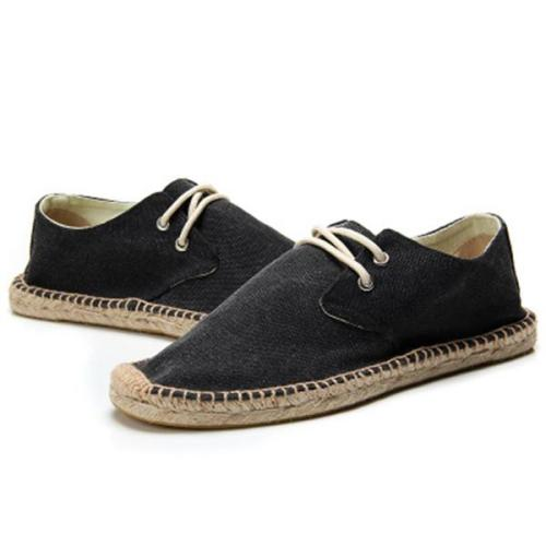 Men Casual Flat Heel Elastic Band Loafers