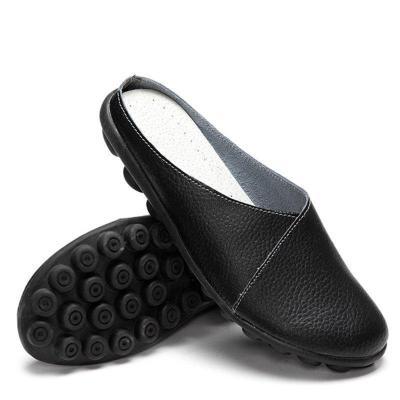 Casual Slip-On Flat Heel Slippers